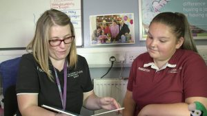 cache level 3 childcare student at discovery college plymouth